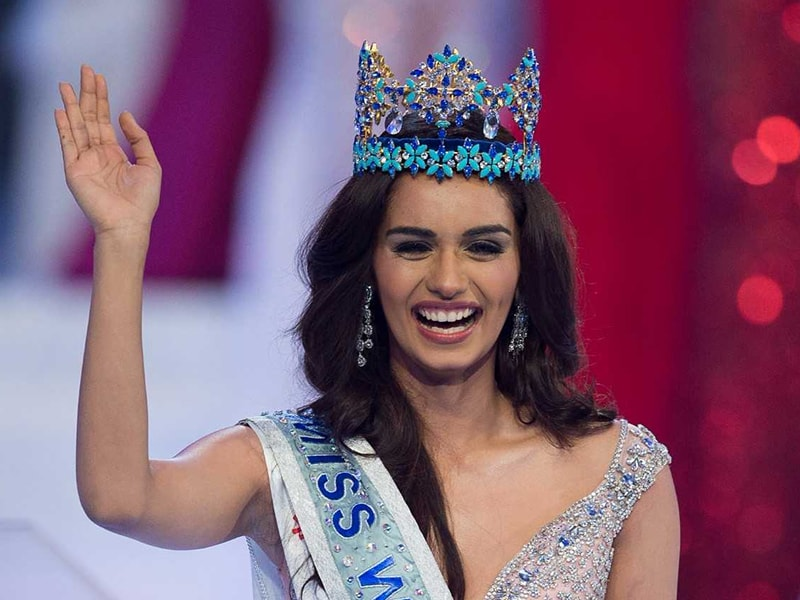 Miss India Manushi Chhillar Wins Miss World 2017