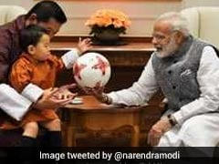 Cuteness Alert! Gifts From PM Modi For Bhutan Prince