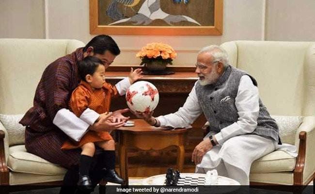 Cuteness Alert! Gifts From PM Modi For Bhutan Prince