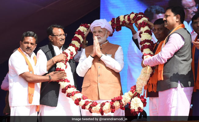 मैंने चाय बेची है, देश को नहीं बेचा: राजकोट में प्रधानमंत्री नरेंद्र मोदी