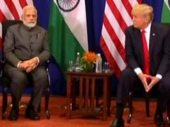 "Increased India Tariffs ""Must Be Withdrawn"": Trump Before Meeting PM Modi"