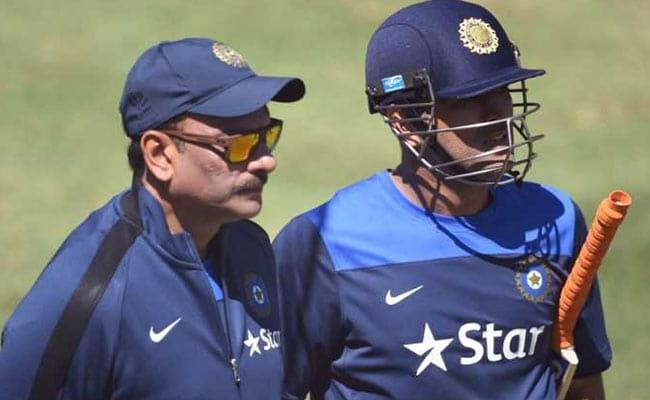 MS धोनी के समर्थन में टीम इंडिया के मुख्य कोच रवि शास्त्री ने दिया यह बड़ा बयान...