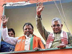 BJP's Mukul Roy Accuses Trinamool Government After His Convoy Searched