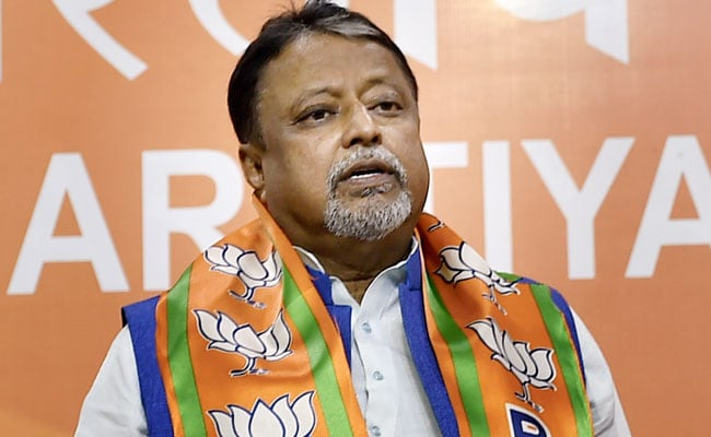 BJP's Mukul Roy Named In Supplementary Chargesheet In Trinamool Leader Murder