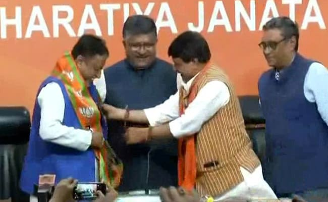 Mukul Roy Joins BJP Month After Quitting Trinamool Congress