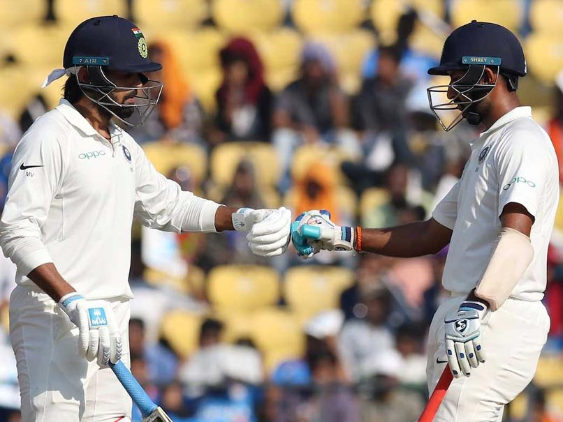 2nd Test, Day 2: Ton-Up Cheteshwar Pujara, Murali Vijay Put India In Command