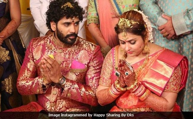 Inside Pics Of Namitha S Wedding In Tirupati