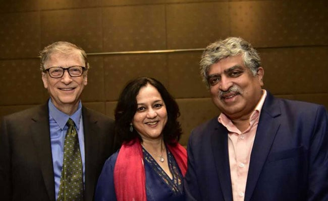 Nandan Nilekani, Wife Pledge Half Their Wealth For Philanthropy