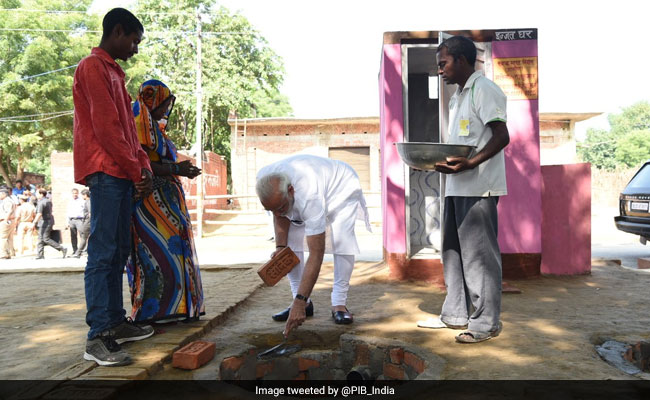 On World Toilet Day, PM Modi Says Committed To Improving Sanitation Facilities