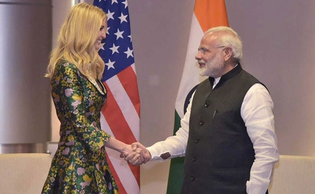 Ivanka Trump Says PM Modi's Rise From Tea-Seller Brings Hope For Change