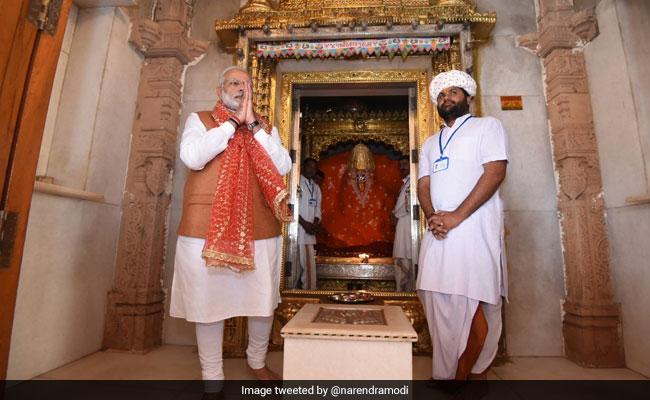 narendra modi temple bhuj twitter