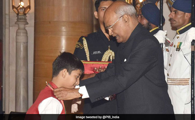President Ram Nath Kovind Confers National Child Awards 2017; Super 30 Anand Kumar Awarded National Award For Child Welfare