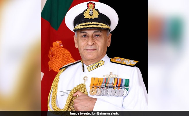 Navy Chief In France, To Hold Talks With Top Military Brass