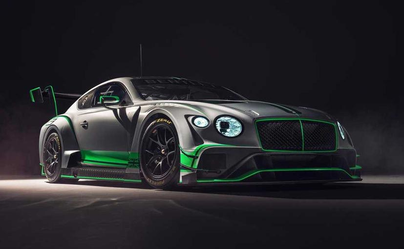 New Bentley Continental GT3 Racer Revealed