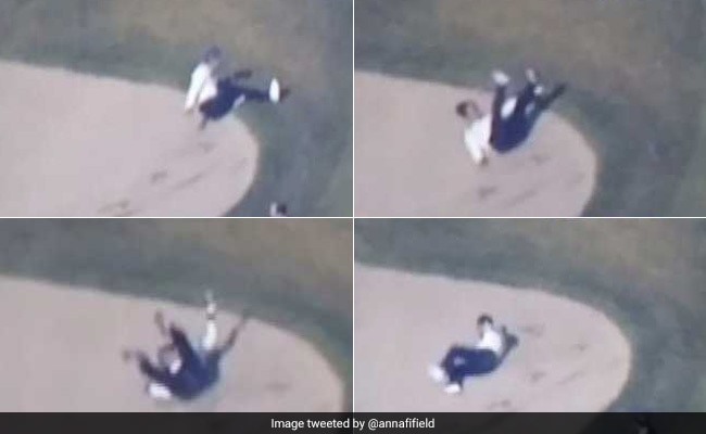 On Golf Course, Abe Did Ninja Stunt - Trump Didn't Even Notice