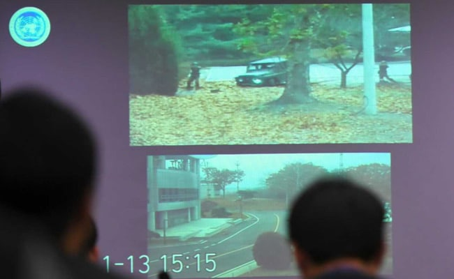 Watch: Dramatic Footage Shows North Korea Defector's Border Dash
