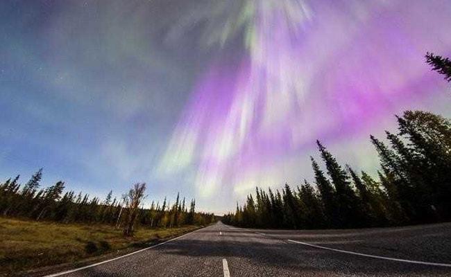 Dazzling Northern Lights Display Illuminates Finnish Skies