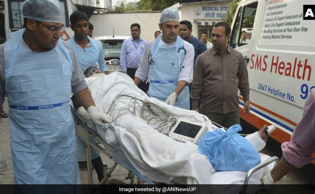 ntpc injured taken to aiims