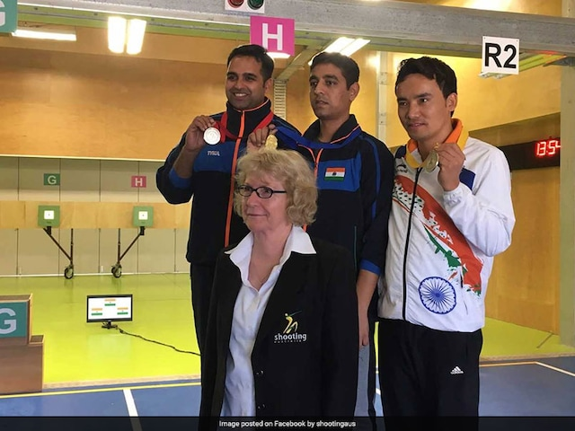 Shooter Omkar Singh Buries 2010 Ghosts In Style, Wins Silver At Commonwealth Championship