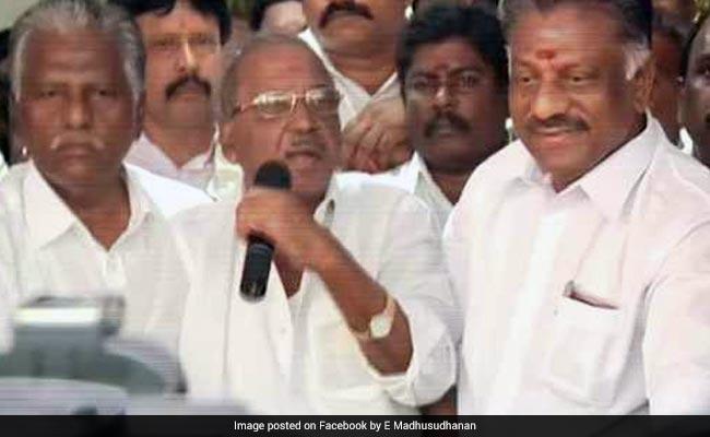 AIADMK nominates Madhusudhanan for RK Nagar bypoll