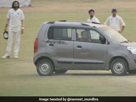 Ranji Trophy: Man Arrested For Driving Car Onto Pitch During Delhi-Uttar Pradesh Match