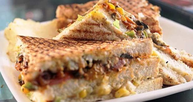 paneer toasty with salsa recipe