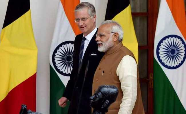 PM Modi Meets Belgium's King Philippe, Discusses Strengthening Bilateral Ties