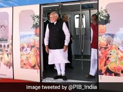 PM Modi Launches Hyderabad Metro, Takes First Ride: 10 Points