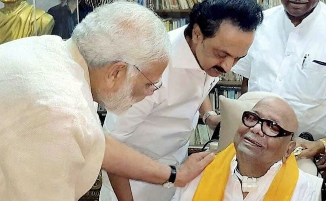 Timing Of PM Modi's Meeting With DMK's Karunanidhi Fuels Talk