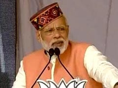'Corruption Is The Only Identity Of Congress,' Says PM Modi In Himachal