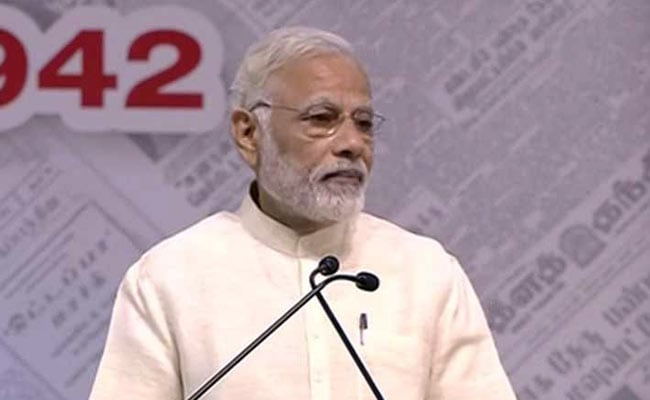 Editorial Freedom Should Be Used In Public Interest: PM Modi