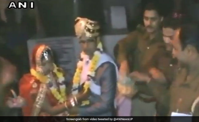 Watch: Kannauj Couple Ties The Knot At Police Station. Here's Why