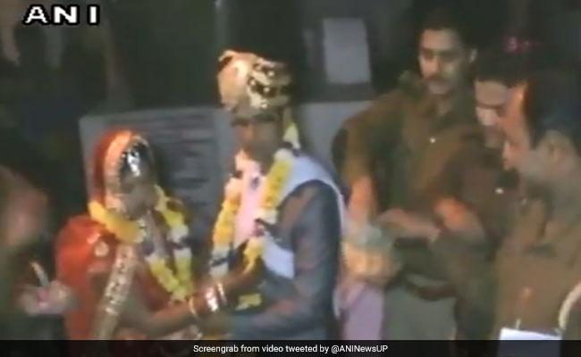VIDEO: कन्नौज में दूल्हा-दुल्हन ने थाने में रचाया ब्याह, वजह जानकर होगी हैरानी