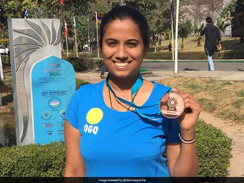 Pooja Ghatkar, Shahzar Rizvi Win Gold at Commonwealth Shooting Championship