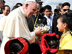 Pope Francis Arrives In Myanmar On High-stakes Visit