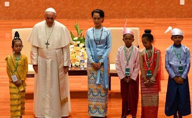 pope myanmar afp