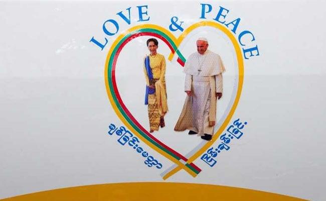 Pope Francis To Meet Myanmar's Leader Aung San Suu Kyi