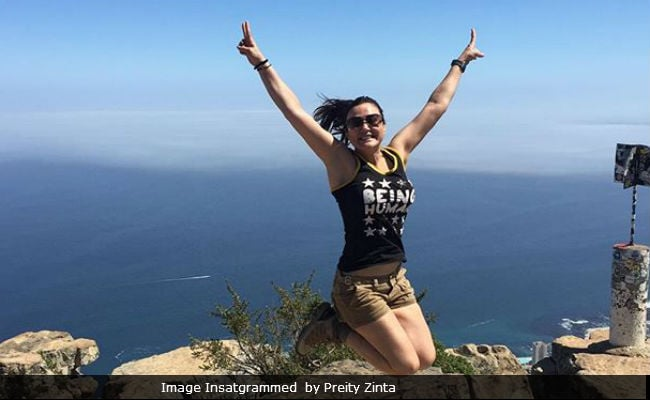 Pics: What Preity Zinta Is Doing On Her Family Holiday In South Africa