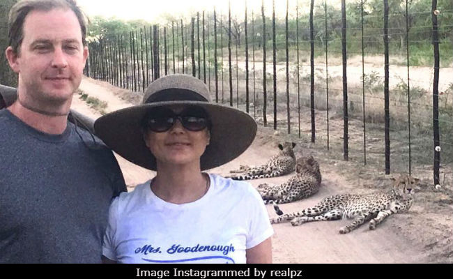 Preity Zinta Went For A Walk And Bumped Into 3 Cheetahs. No Biggie In South Africa