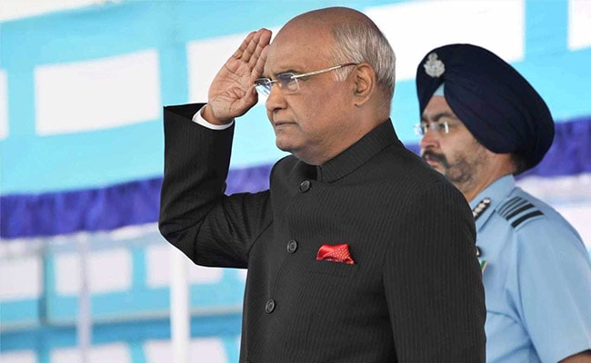 India For Peace, But Will Use Might To Protect Itself: President Kovind