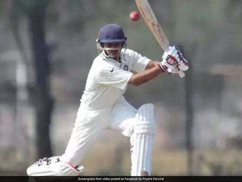 Ranji Trophy: Priyank Panchal Ton Leads Gujarat
