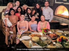 Priyanka Chopra's Thanksgiving Feast And Poolside Pics