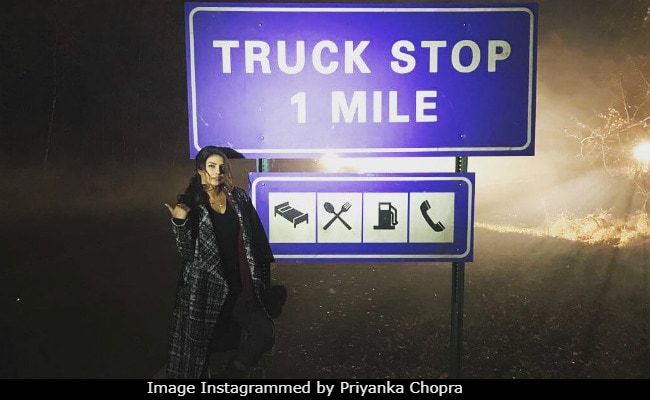 Priyanka Chopra Needs A Ride Home From The Middle Of Nowhere, People