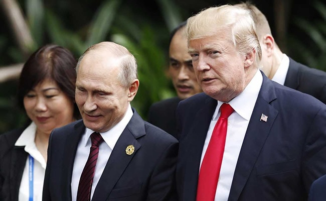 Hope Donald Trump Visits Russia For Victory Day in May: Vladimir Putin