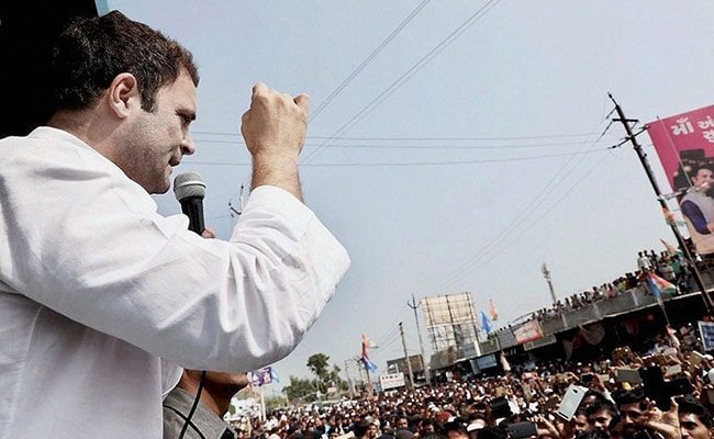 'Grim Faces At Their Meetings, We Are Happy People': Rahul Gandhi Taunts BJP