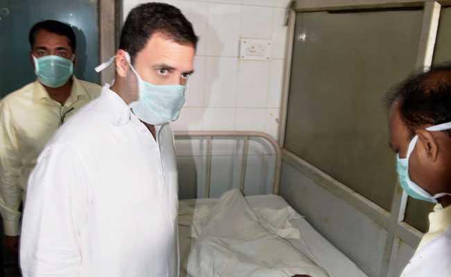 rahul gandhi boiler blast victims pti