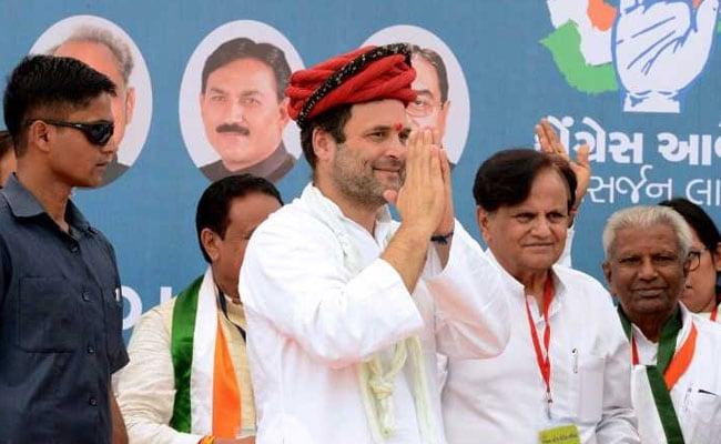 राहुल गांधी का आज से उत्तर गुजरात में तीन दिवसीय दौरा, अम्बाजी मंदिर भी जाएंगे