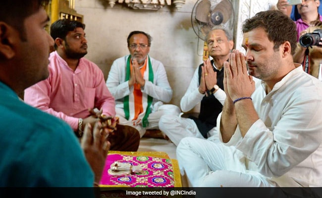 I'm A Devotee Of Lord Shiva: Rahul Gandhi On His Temple Visits In Gujarat