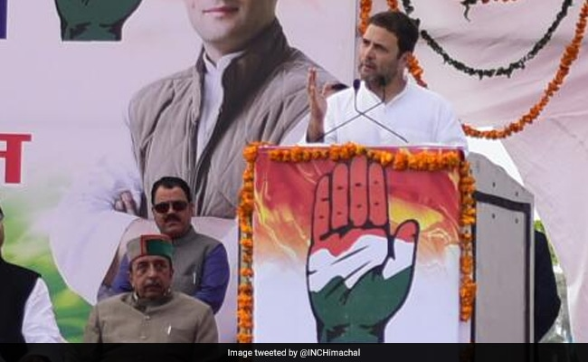 Himachal Pradesh Assembly Election 2017: Rahul Gandhi Presents NITI Aayog Data To Avenge PM Modi Insult