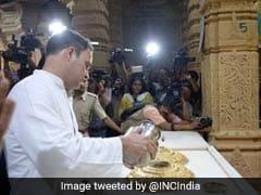 """My <i>Daadi</i> Was <i>Shiv Bhakt</i>, Won't Do Politics Over Religion"": Rahul Gandhi"